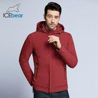 IceBear новые весной мужских куртки высокого качества человека случайные пальто проложенных сыпучих мужской бренд куртку MWC18099D 201111