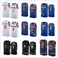 1 OBI TOPPIN NEWYORK 9 RJ BARRETT 2020-21 흑인 도시 농구 유니폼