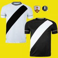 2020 2021 Club Vasco da Casa Away Gama Futebol Jerseys 20 21 Maxi Rios Paulinho Fabiano Muriq Custom Black White Football Camisa