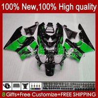 Body Kit voor HONDA CBR919 CBR900 RR CBR900RR CBR 919RR 900RR 919CC 93HC.65 GROENE GLOSSY CBR919RR 98 99 CBR 900 919 CC RR 1998 1999 Kuip