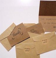 الرجعية كرافت ورقة بطاقات المعايدة شكرا لك الكلمات بطاقة عيد ميلاد المغلف ملصقا دعوى حزمة من جودة عالية 18 قطعة 2JX J2