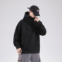 2020 Spring Fashion Black Sweatshirt Men' S Hip Hop Long...