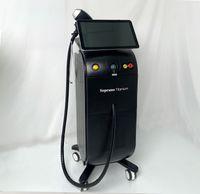 Laser-Sopran-Titan-Eis-Platin-Triple Trio 755 810 1064 nm Alma-Diode 808nm Haarentfernungshaarentladung Beauty-Schönheitsmaschine