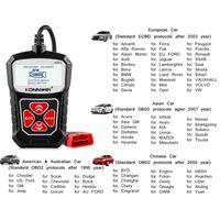 Universal-KONNWEI KW310 OBD2 Scanner für Auto OBD 2 Auto-Scanner-Diagnosewerkzeug Auto Werkzeuge Russisch
