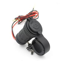 12-24V Zigarettenanzünder Sockel 12V wasserdichtes Auto Boot Motorrad Lenker Zigarette Feuerzeugbuchsen Power Plug Outlet1
