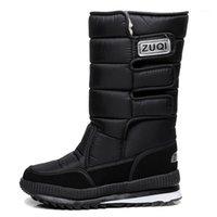 2020 hommes bottes bottes noir chaussures d'hiver mâles snowboots grand taille 48 Fourrure chaude en caoutchouc Semelle Semelle Semelle Semelle Semelle Semelle Semelle NOUVEAU HOMME Livraison gratuite1
