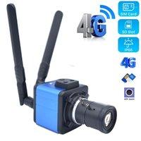 1080P CAT4 3G 4G Caméra Caméra en direct Streaming SIM Caméra IP Caméra SD 4G Carte SIM RJ45 CCTV Sécurité Déplacez le trépied pour sécuriser avec I-CS LENS1