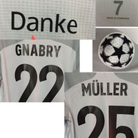 2020 Correspondência Worn Playe Edição Lewandowski Gnabry Muller Kimmich com Danke Match Detalhes Futebol Patch Home Têxtil