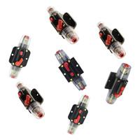 Sistema Solar 7pcs 12V DC impermeable Circuito del interruptor de reinicio del fusible del inversor