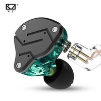 KZ ZSN 1BA+ 1DD Hybrid In Ear Earphone HIFI DJ Monitor Runnin...