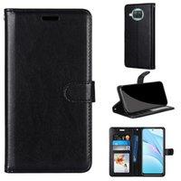 محفظة حالة الهاتف ل xiaomi 10T Lite Poco X3 NFC 10 ل Redmi Note 9 10x Pro Max 9S 9A 9C فليب بو الجلود كوكك فتحات بطاقة