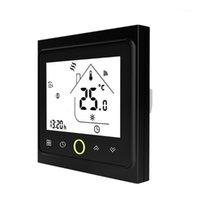 Chauffe-domestiques Thermostat WiFi portable avec écran tactile écran LCD programmable Sauvegarde d'énergie Smart Température Contrôleur pour la chaudière à eau1