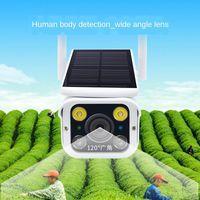 Solar Power Caméra IP A8 avec wifi Chargement en plein air Pile Détection de la batterie Sécurité Caméra Night Vision CCTV Surveillance