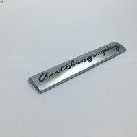 Pour Land Rover Gamme Rover L405 Sport Autobiographie Métal Badge Badge Logo Emblem Décalque