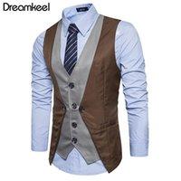 Gilets pour hommes 2021 Dreamkeel Mens Costudes Vest Homme Top Boys Vendre Mode Entreprise Casual Wear Hommes Gilet Vêtements Y