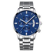 12 Color Orologio Masculino Hombres Relojes Famosos Top Brand Moda Moda Casual Vestido Reloj Nibosi Military Quartz Wristwatches Saat