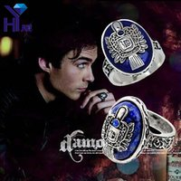Vintage The Vampire Diaries Ring D Damon Stefan' s Elena...