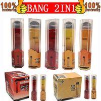 Bang Pro Max 스위치 일회용 vapes 펜 포드 디바이스 키트 로컬 1000 + 1000 퍼프 Bang XXL 2 in 1 일회용 vape 전자 담배 2000Puffs