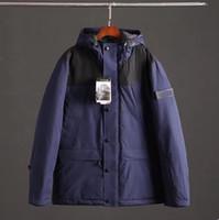 حار بيع 2019 جودة عالية جديد ماركة الشتاء الرجال هوديس سترة رقيقة والضوء سترة أسفل معطف M-XXXL