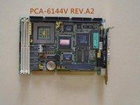 100% тест высокого качества Промышленный компьютер материнская плата 486 полуудлиненное плата PCA-6144V REV.A2 интегрированной графикой с CPU мем