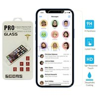 Tempered Glass Screen Protector for iPhone 12 mini pro max XR X Xs Max 8 7 6S with retail packaging free express