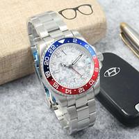 40 мм мода спортивные часы мужчины автоматические механические водонепроницаемые дата нержавеющая сталь света из нержавеющей стали, производители самые продаваемые продукты