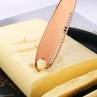 الفولاذ المقاوم للصدأ زبدة سكين متعددة الوظائف الجبن الحلوى مربى الفيدرز كريم السكاكين أدوات السكاكين الإفطار للحلوى toast cca3435