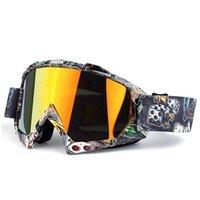 موتوكروس نظارات نظارات التزلج مع خربش نظارات تزلج على الجليد للدراجات النارية الدراجات نظارات الضباب الضوء UV400 صامد للريح Sandproof