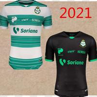 S-4XL Santos Laguna Soccer Jerseys 2020 2021 LIGA Mexique MX Club FC 20 21 ROSE Football Shirt FURCH LOZANO Camiseta de Fútbol