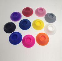 Colorful base del supporto del silicone display Ego Vape Batteria Stand Atomizer ventosa per Tenere E Cigarette Vape Pen