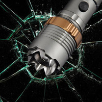 Auto defesa T6 LED recarregável tocha poderosa lanterna lanternas táticas acampar caminhadas luz lâmpada de luz 18650 Battery1