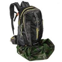Outdoor-Taschen Tomshoo 40L-50L wasserdichter Regenschutz staubdicht Rucksack Tragbare Rucksack Staubbeutel für Camping Wanderung