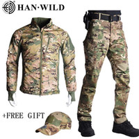 HAN WILD Tactical Jacket Men Softshell Camouflage Waterproof...