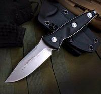 Soc Alpha Mini Feste Klinge Gerade Camping Survival Klappmesser Outdoor-Werkzeuge OEM Weihnachten Geschenkmesser Messer Messer A3135