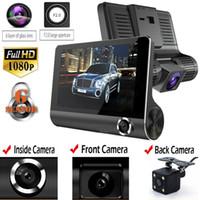 2020 Original 4 '' Carro DVR Camera Video Recorder Vista traseira Registrador automático Ith Duas câmeras Dash DVRS DVRS Dual Lente Nova Chegue