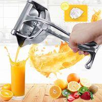 Ручной сок Squeezer алюминиевый сплав руки под давлением соковыжималки гранат оранжевый лимонный сахарный тростник сок кухня фруктовый инструмент 201130