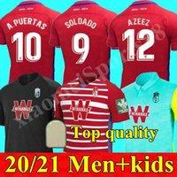 2020 2021 الرجال + أطفال 2020 2020 2021 غرناطة لكرة القدم الفانيلة 20 21 غرناطة CF Home Third Soldado Herrera Antonio Puertas Shirts
