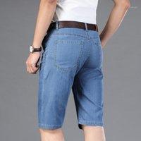 Nigity 2020 Neue Mode Marke Qualität Herren Ripping Denim Shorts Sommer Baumwolle Jeans Shorts Denim Hose plus Große Größe 27-441