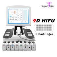 3 Generazione del corpo del viso dimagrante Nuovo arrivo HIFU 3D in vendita HiFu Facial Lifting Digital 3D Machine ad ultrasuoni portatili