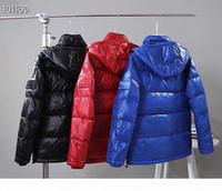 Mens inverno para baixo jaqueta de alta qualidade parka para homens negros azuis vermelhos mulheres para baixo jaqueta com capuz casaco moda manter o pato quente down casaco