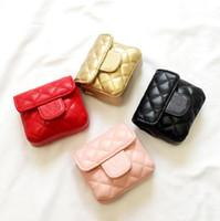 الأطفال مصمم حقيبة يد أزياء الفتيات إلكتروني الأميرة البسيطة رسول حقائب أطفال بو تغيير محفظة سلسلة واحدة حقائب الكتف C6716