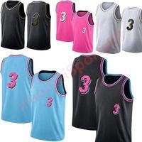 새로운 2021 고품질의 새로운 남성 여성 청소년 웨이드 유니폼 3 육상 스포츠 농구 키즈 셔츠 도시