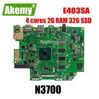 Placa base E403SA para ASUS E403SA E403S TRABAJO PLATABOA E403S 100% PRUEBA ORIGINAL N3700 4 núcleos 2G RAM 32G SSD