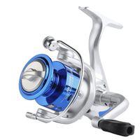 Рыбалка Спиннинг катушки катушки BAITCACTING AK 1000-7000 MAX Drag 5 кг 5.2: 1 металлический привод шестерни высокоскоростной солевой водой рыбалка прядильная катушка