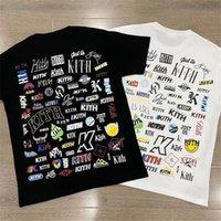2021 Yeni SS Roman T Gömlek Erkekler Kadınlar 1: 1 En Iyi Kaliteli Streetwear Yaz Tarzı Rahat Kith T-shirt Top Tees 9KU7