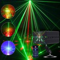 7 렌즈 120 패턴 별 레이저 빛 RGB 바 결혼 생일 파티 장식 프로젝터 디스코 DJ 조명 LED 무대 조명