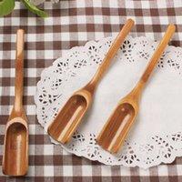 bambu çayın kepçe kaşık çay aracı kahve kaşığı kullanışlı araçlar Kahve Çay Yaprakları Kaşık Toptan
