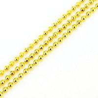 Jhplated 45 cm Goldfarbe afrikanische Eritrea Halskette / Dubai / arabische Kette Halskette Äthiopische Kette Halsketten für Frauen / Männer Geschenk1