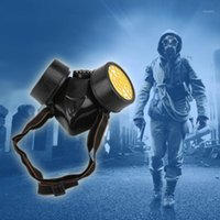 Велосипедные шапки маски аварийные выживания газа маска безопасности респираторные противоречивые краски респиратор защитный фильтр капли 1