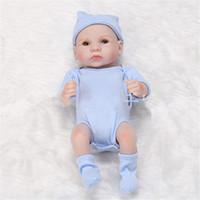 renaissant bébé poupées silicone en silicone rebrorn baby poupées faite main reborn 11 pouces véritable nouveau-né bébé poupées poupées fille silicone poupée